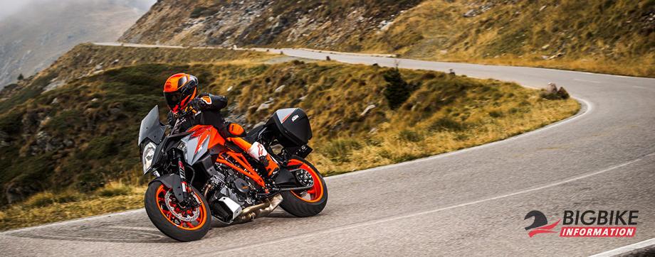 ภาพ KTM 1290 Super Duke GT สีส้ม
