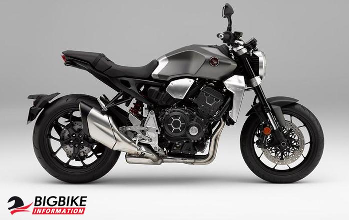 ภาพ Honda CB1000R สีเทา ด้านข้าง