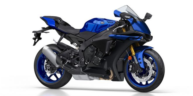 Yamaha YZF-R1 สีน้ำเงิน 2019