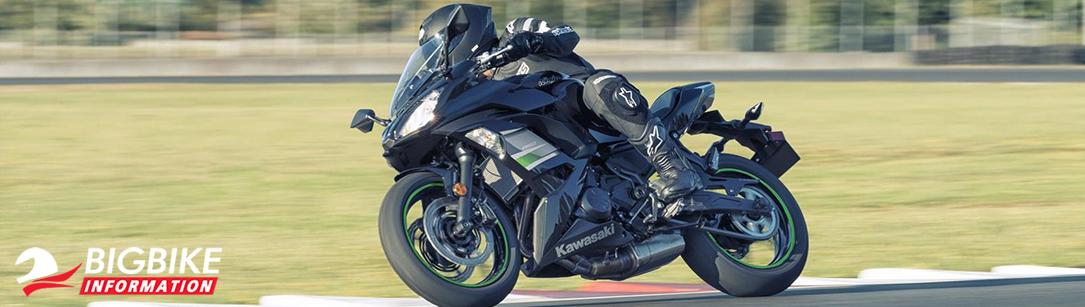 ภาพ Kawasaki Ninja 650 2019 สี