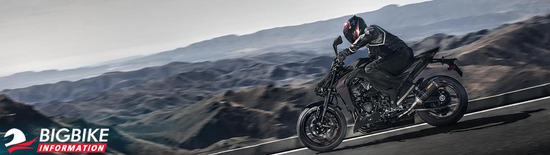 ภาพ Kawasaki Z1000 ปี 2019 สีดำ-แดง