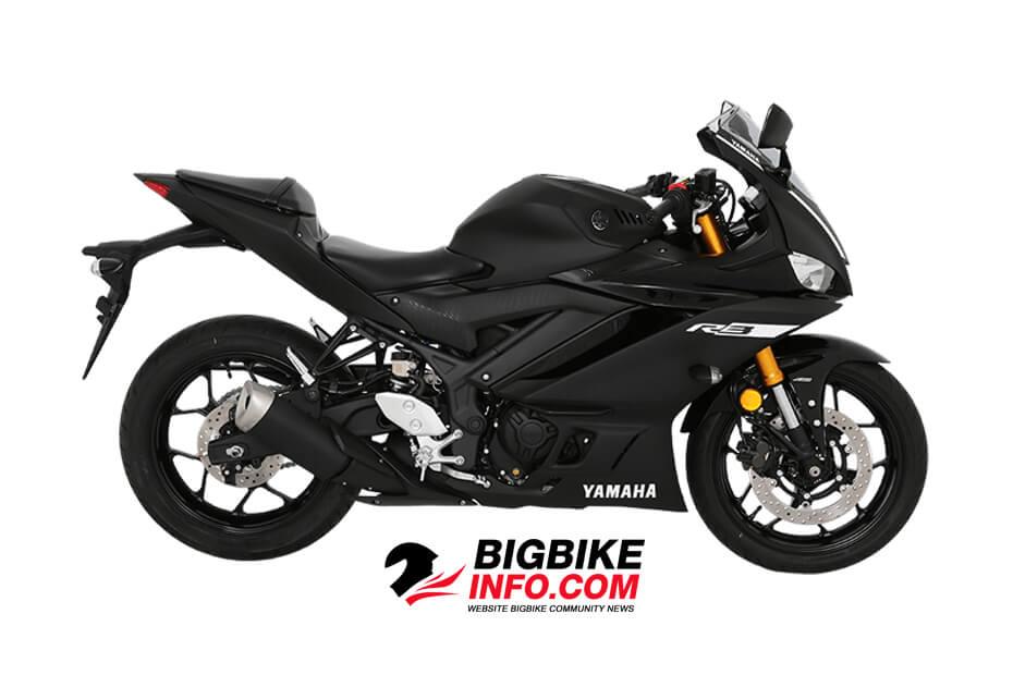 สีดำ Yamaha YZF-R3 2019