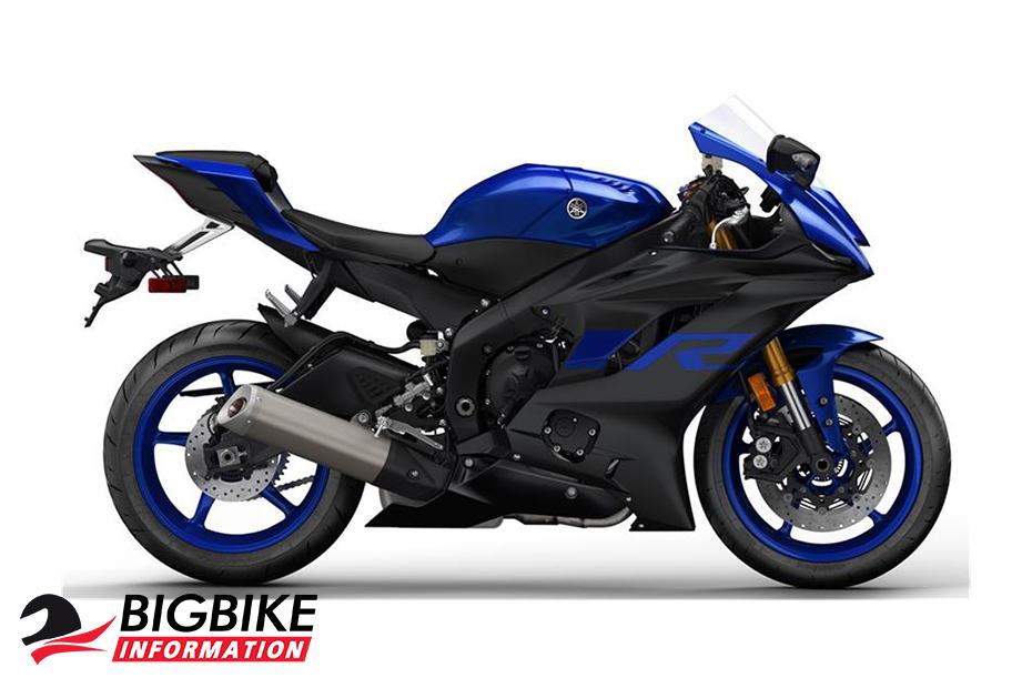 Yamaha YZF-R6 2019 สีน้ำเงิน