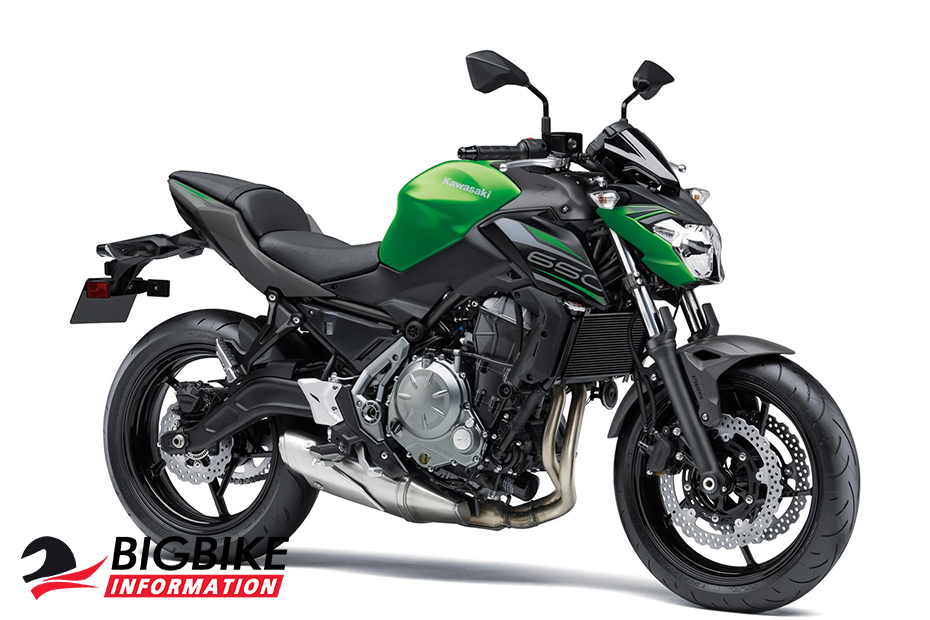 Kawasaki Z650 2019 สีเขียว