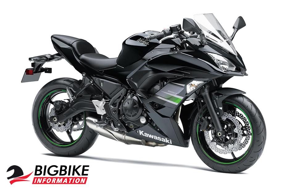 ภาพ Kawasaki Ninja 650 2019 สีดำ