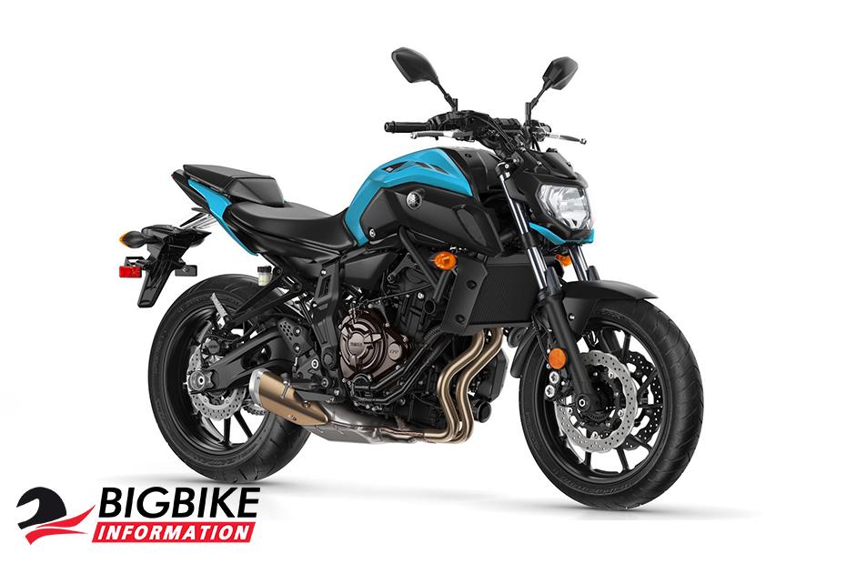 Yamaha MT 07 2019 สีฟ้า