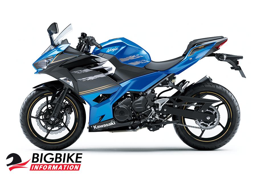Kawasaki Ninja 400 2019 สีน้ำเงิน