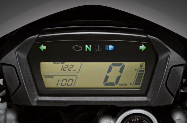 หน้าปัดเรือนไมล์แบบ FULLY LCD (ดิจิตอลเต็มรูปแบบ)