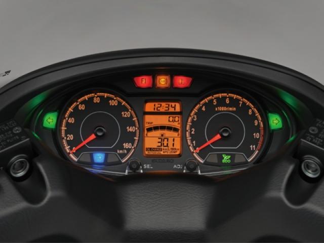 หน้าปัดเรือนไมล์ 2 แบบ คือ แบบอนาล็อกและแบบ ดิจิตอล LED