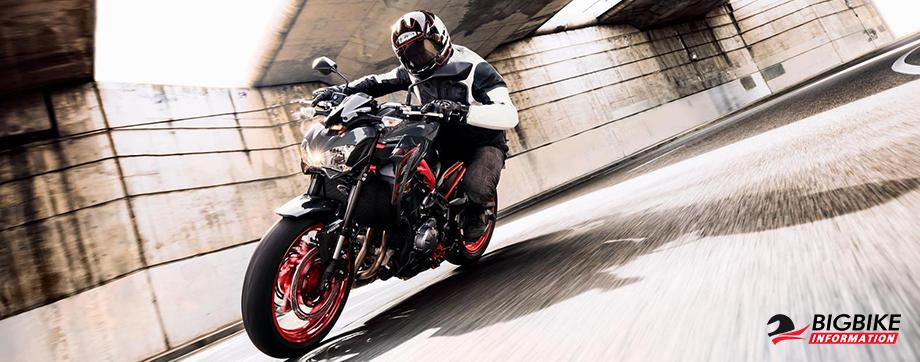 ภาพ Kawasaki Z900 2019