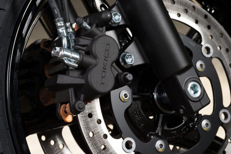 ดิสก์เบรก (ดิสก์เบรกคู่ ขนาด 290 มม. + ABS)