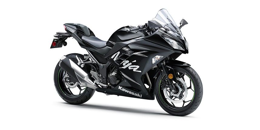 kawasaki ninja 300 WINTER TEST EDITION สีดำ