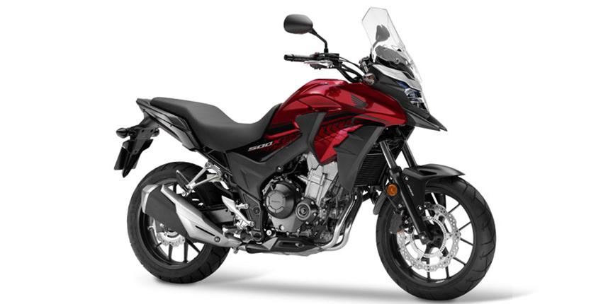 ภาพ Honda CB500X สีแดง