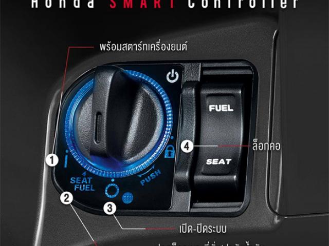 HONDA SMART CONTROLLER เป็นชุดควบคุมการทำงานอัฉริยะเพียงบิด