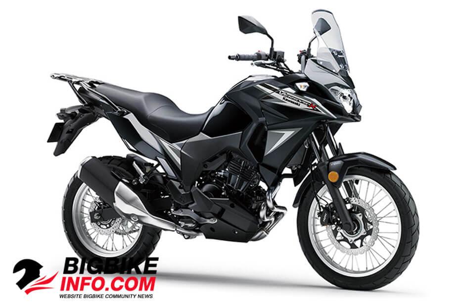 Kawasaki Versys-X 300 ปี 2019 METALLIC SPARK BLACK
