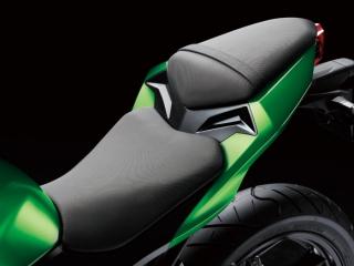 ชุดหลังของ Z300 ประกอบไปด้วยเบาะนั่งคนขับที่เป็นลายตัว Z