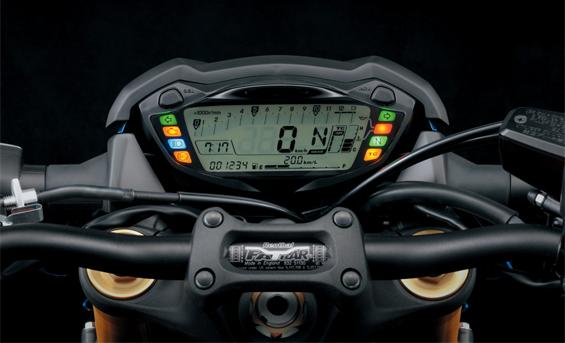 หน้าปัดเรือนไมล์แบบ FULL LCD