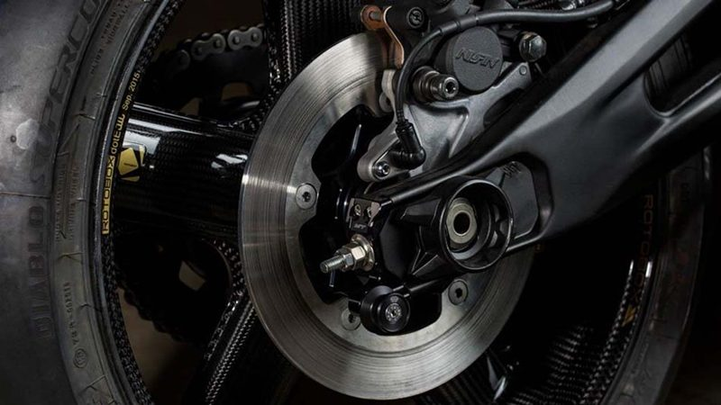SINGLE HYDRAULIC DISC ขนาด 245 มิลลิเมตร พร้อมระบบ ABS