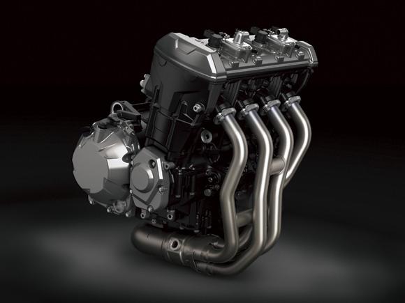 เครื่องยนต์แบบ 4 สูบเรียง 4 จังหวะ DOHC 4 วาล์วต่อลูกสูบ ขนาดเครื่องยนต์ 1,043cc
