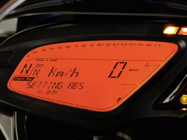 หน้าปัดเรือนไมล์แบบ ดิจิตอล LCD