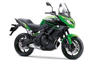 Kawasaki Versys 650 ABS สีเขียว