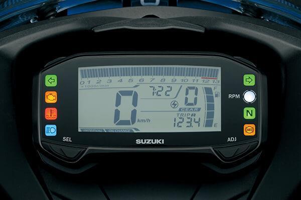 หน้าปัดเรือนไมล์แบบดิจิตอล FULL LCD