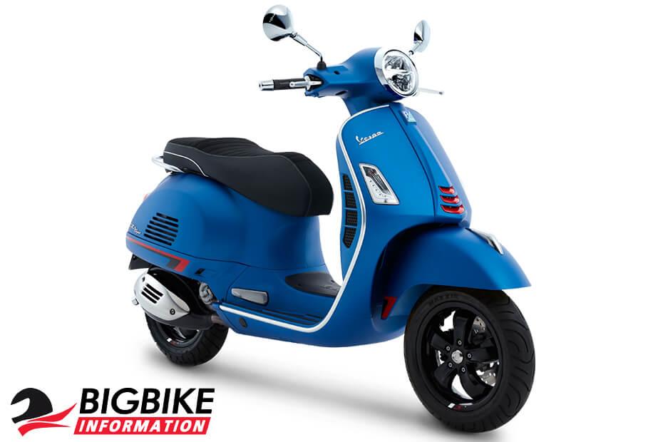 เวสป้า จีทีเอส ซูเปอร์ 300 เอบีเอส สีน้ำเงินด้าน