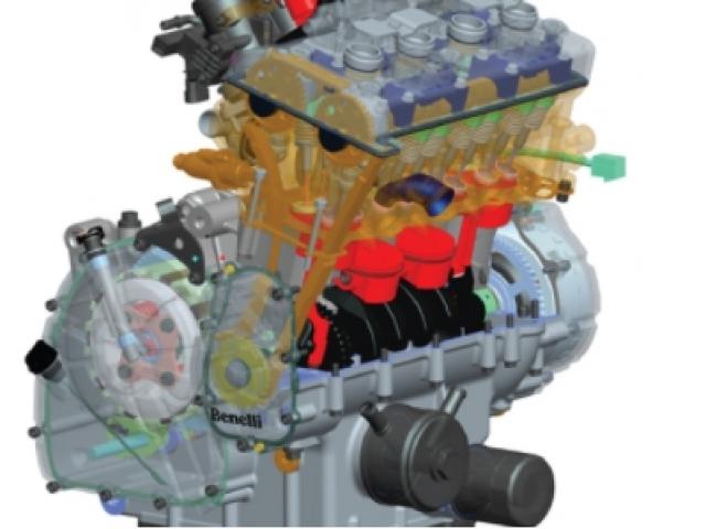 เครื่องยนต์ 4 สูบ 4 จังหวะ DOHC 4 วาล์วต่อสูบ ขนาดเครื่องยนต์ที่ให้มาขนาด 600 ซีซี