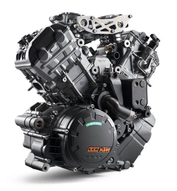 เครื่องยนต์ 4 จังหวะ 2 ลูกสูบ V-TWIN 75 องศา 8 วาล์ว DOHC ขนาดเครื่องยนต์ 1,301 ซีซี.