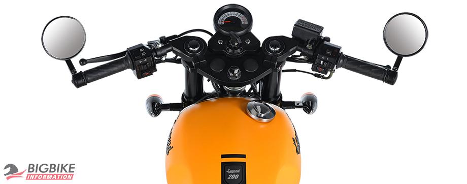 ภาพ GPX LEGEND 200 สีเหลือง