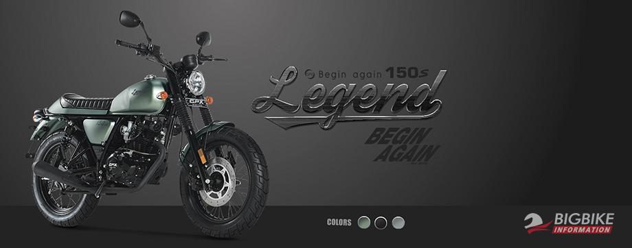 GPX Legend 150S 2018