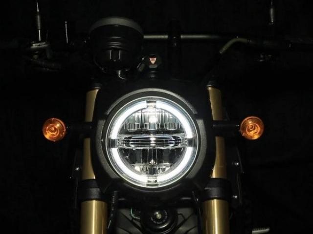 ไฟหน้าทรงกลม ไฟแบบ LED