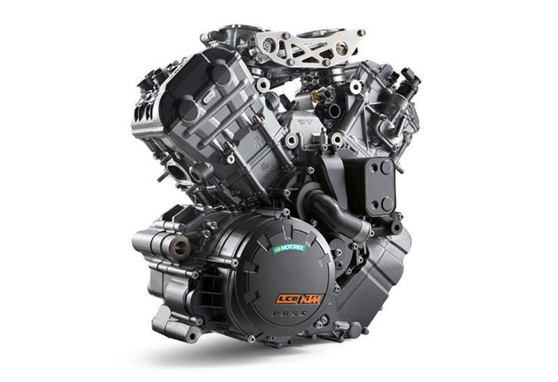 เครื่องยนต์ 4 จังหวะ 2 ลูกสูบ V-TWIN 4 วาล์ว DOHC ขนาดเครื่องยนต์ 1,301 ซีซี.