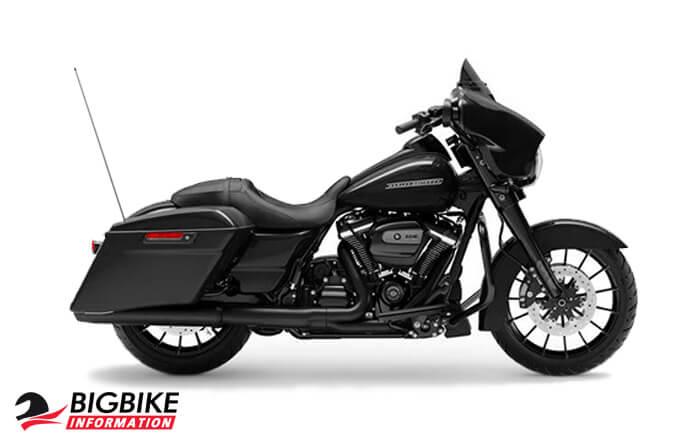 street glide special สี Vivid Black