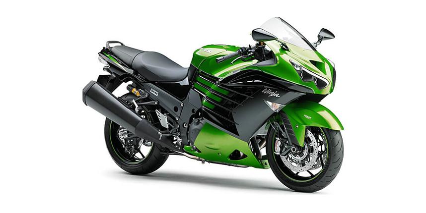 Ninja zx-14r สีเขียว GOLDEN BLAZED