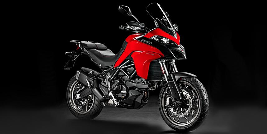 ภาพ Multistrada 950 สีแดง