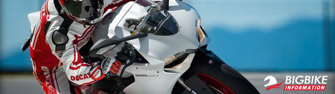 ภาพ Ducati 899 Panigale สีขาว