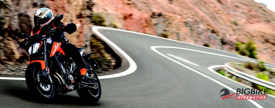 ภาพ KTM 790 Duke สีส้ม