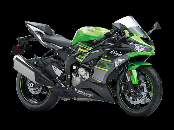 Kawasaki ZX-6R สีเขียวมะนาว KRT Replica (Vert Lime Green)