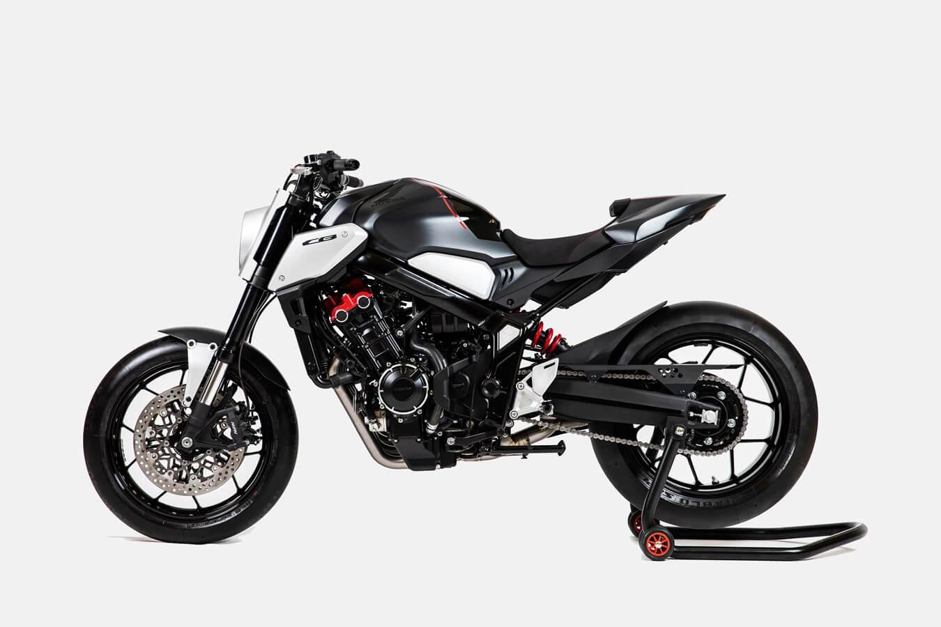 Honda CB650R Neo Sport Cafe 2019 ด้านข้าง