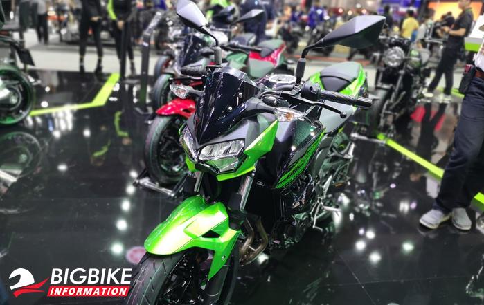 ด้านหน้า Kawasaki Z400