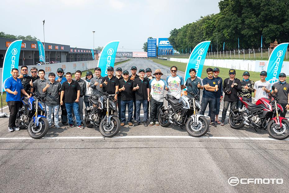 CFMoto พร้อมลุยตลาดไทยหลังส่ง 250NK ลงสนามจริง เตรียมเปิดตัวในงาน Motor Expo 2018