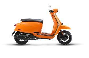 แลมเบรตต้า วี200 สีส้ม