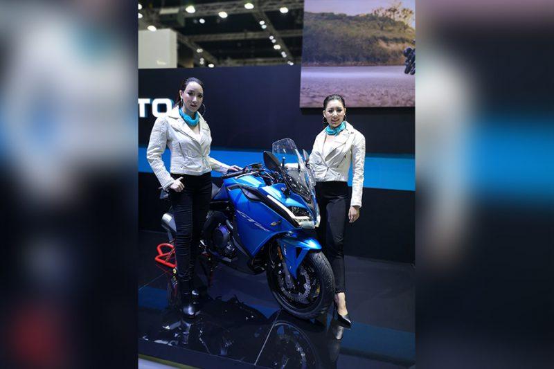 เปิดตัว CFMOTO 650GT ในงาน Motor Expro 2018