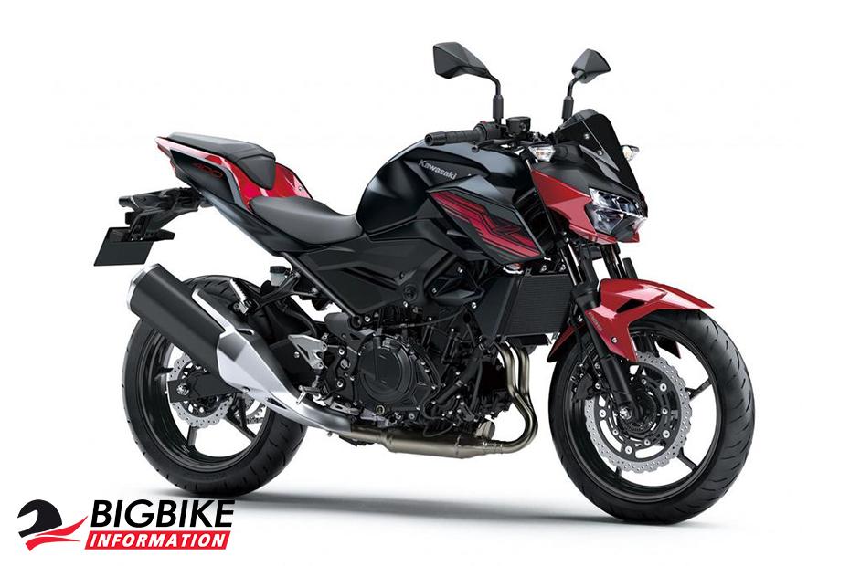 Kawasaki Z400 2019 สีแดง