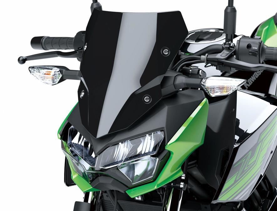 ไฟหน้า LED ดีไซน์ใหม่ Kawasaki Z400 2019