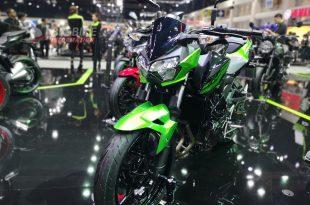 Kawasaki เปิดตัวบิ๊กไบค์โมเดลล่าสุด Z400