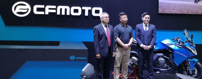 Motor Expro เปิดตัวมอเตอร์ไซต์ CFMoto