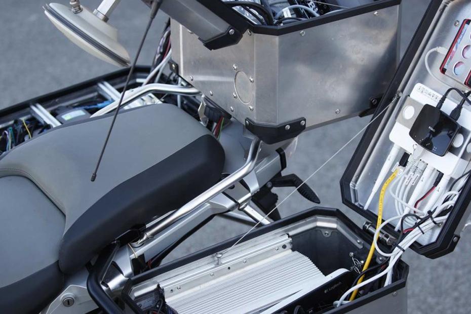 ชุดอุปกรณ์ต่างๆ บน BMW R1200GS