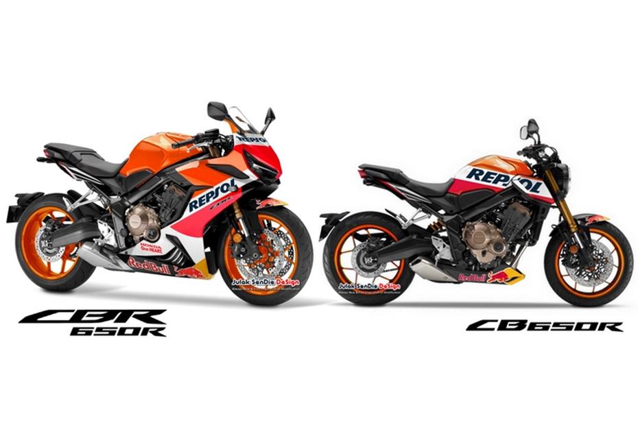 Honda CB650R & CBR650R Repsol Edition